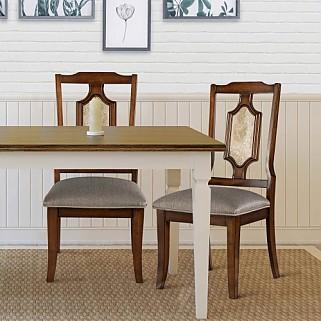 원목 식탁의자 메모리폼 쿠션 의자