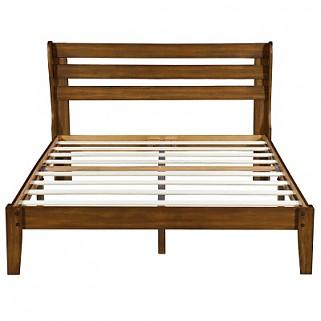 Non-slip Wood Platform Bed Frame 40SF01